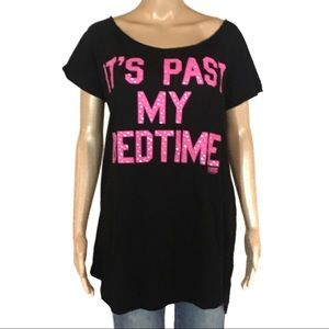 PINK Victoria's Secret Oversized Pajama Graphic